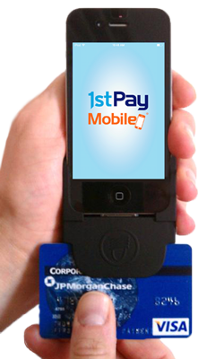 1stPayMobile: Android & iPhone Credit Card Reader
