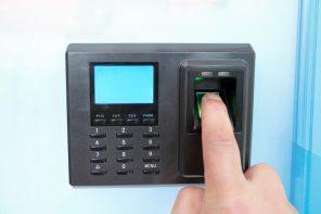 fingerprint lock at office complex