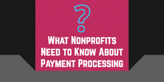 nonprofit payment processing faqs