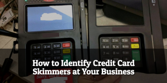 Identify Credit Card Skimmers